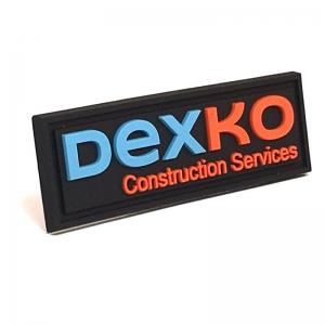 Dexko Construction Services PVC label