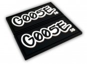 Goose PVC Label - Black
