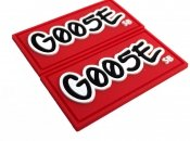 PVC Labels Goose Red