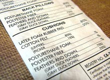 custom tyvek labels