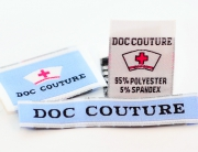woven labels for medical apparel