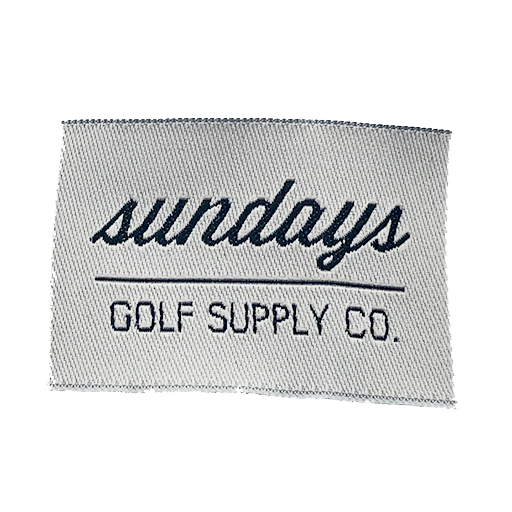 sundays name label