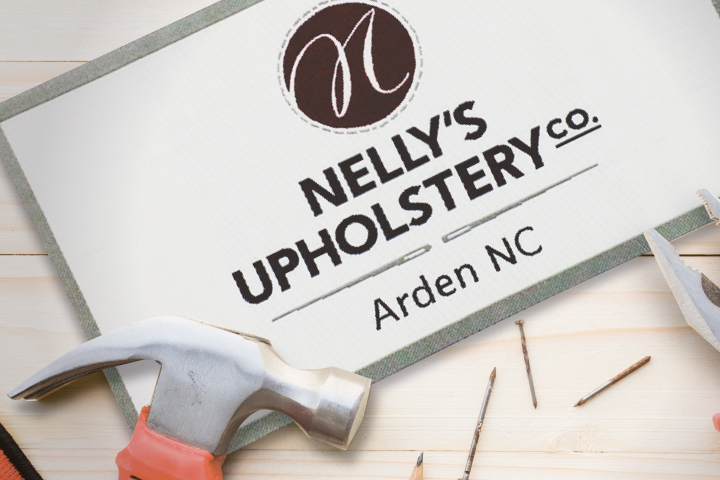 Nellys upholstery label