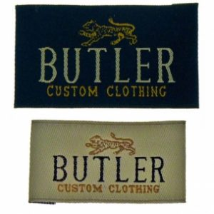 BUTLER SUIT LABELS